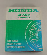 Officina Manuale/Workshop Manual HONDA SPACY ch 250 di 1985