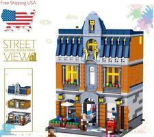 Creator Street View Series Hill Tavern Building Blocks Bricks Toys Sets QL0935