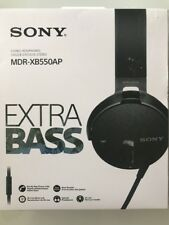 Sony MDRXB550AP Extra Bass Headphones with inline mic