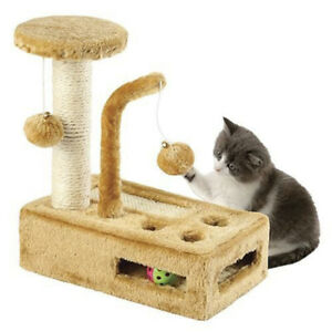 Complete Cat Playground – Cat Scratching Post – Cat Activity Center
