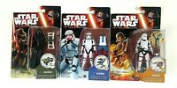 Kylo Ren Storm Troopers Star Wars Hasbro Force Awakens Lot of 3 Figures Read