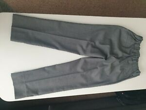 NEXT Grey  boys wedding outfit Trousers and Waiscoat VGC age 9.