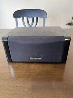 Pioneer CS-C400 Center Channel Speaker - Tested 70w  Clean Vintage
