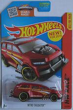 Hot Wheels-Nitro Tailgater rojo nuevo/en el embalaje original us-Card