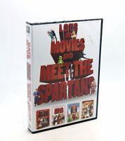 MUCHAS PELICULAS & Meet the Spartans Colección Set DVD Región 2 Nuevo Sellado