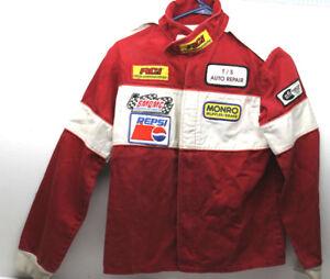 Vintage Boys Kids M Racing Jacket RCI Monro Pepsi SMQMC Syracuse Microd Quarter