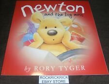 NEWTON AND THE BIG MESS (RORY TYGER) 2017 -LARGE BOOK- BRAND NEW