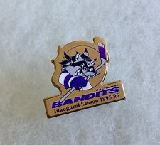 BALTIMORE BANDITS INAUGURAL SEASON 1995-96 FAN CLUB PIN BUTTON BADGE BANDITO