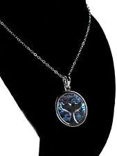Tide Jewellery Inlaid Paua Shell Whale Fluke Necklace Boxed