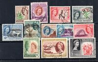 Southern Rhodesia QEII 1953 fine used set to £1 #79-91 (1/2d missing) WS17035