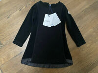 Moncler Girl Toddler Black Hooded Dress Size 3