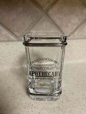 BELLA LUX Dr. H. Gnadendorff Apothecary Glass Tumbler Toothbrush Holder