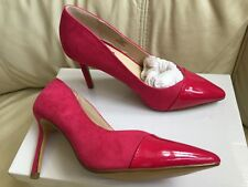 Principles UK 3 Pink Suede High Heel stiletto Shoe designer new fuchsia womens