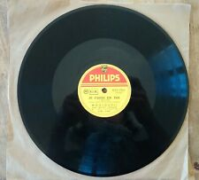 Belle enfant, Je crois en toi, par Mouloudji, Disque 78 tours Gramophone