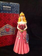 Disney Traditions Showcase Jim Shore Musical Sleeping Beauty Aurora Melody Rose