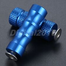 Blue Motorcycle 6mm Footrest Rearset Pedal Gear Shift Lever Foot Pegs Universal