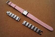 VERY NICE LADIES SEIKO WATCH WITH LEATHER & STAINLESS STRAPS