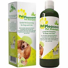 Natural Pet Shampoo for Dogs & Cats Flea and Tick Repellent ODOR ELIMINATOR