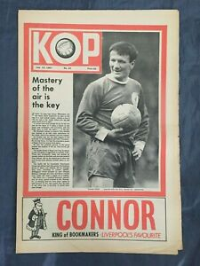 Liverpool FC  -  KOP Newspaper  -  July 12th 1967 -  Issue No 23