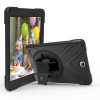 "Heavy Duty Military Rugged Hybrid Case Cover For Samsung Galaxy Tab A 9.7"" T550"
