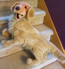 "Large Douglas Cuddle Toy Dog Plush Golden Retriever 27"" Stuffed Animal USA Made"