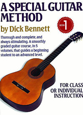 A Special Guitar Method Music Book 1-By Dick Bennett-Instructional-On Sale-New!