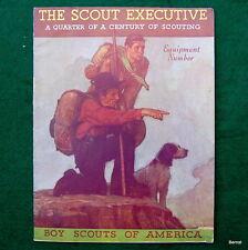 BOY SCOUT - NOVEMBER 1934 SCOUT EXECUTIVE - EQUIPMENT CATALOG