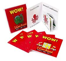WOW! I can Read Red Reader  Set 3 - 6 Books Early Literacy Teacher Resource