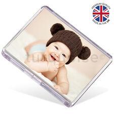 Premium Quality Clear Acrylic Blank Fridge Magnets 73 x 51 mm | Jumbo Photo