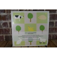 Wall Candy Grazing Buddies Farm Animal Stickers Green