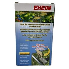 EHEIM Everyday Fish Feeder Programmable Automatic Food Dispenser SEALED.