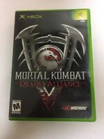 Mortal Kombat: Deadly Alliance (Microsoft Xbox, 2003)