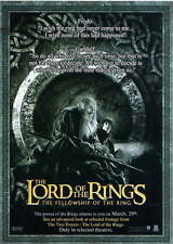 Lord Of The Rings Film Ads & Flyers