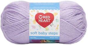 Red Heart Soft Baby Steps Yarn-Lavender, E746-9590