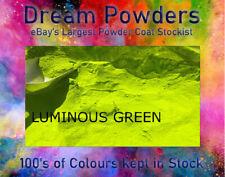 LUMINOUS GREEN  gloss matt satin Powder Coat Coating Alloy Wheel