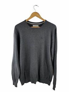 Billabong Pullover Jumper Mens Size XL Grey Long Sleeve Logo Crew Neck Casual