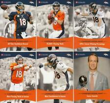 2015 Panini UC Health 6 Card Set Peyton Manning Broncos Colts
