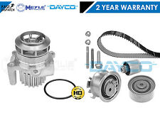 FOR AUDI A4 A6 2.0 TDI BRE DAYCO TIMING BELT KIT MEYLE GERMANY WATER PUMP 140BHP