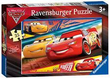 New! 08792 Ravensburger Disney Pixar Cars 3 Jigsaw 35pc Puzzle Children Kids 3+