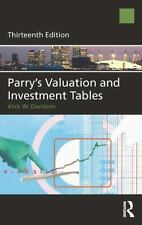 PARRY'S VALUATION AND INVESTMENT TABLES - DAVIDSON, ALICK W. - NEW HARDCOVER BOO