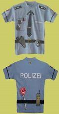 KidsShirt Kinder T Shirt Polizei Grö�Ÿe 92 - 164