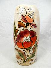 Well shaped handpainted formschöne handbemalte ERHARD SCHIAVON Vase Italy 18 cm