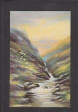Postcard -C1920s -Artists View Of The Dolwyddelan Valley, Wales