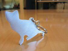 Cat Aluminium Key Chain