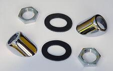 Chrome Wiper Bezel Kit, for Triumph TR3A, Morgan and Austin Healey 3000, ADB826