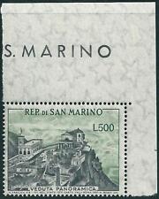 ** San Marino 1958: VEDUTA PANORAMICA  ADF [#475; MNH VF] 130€