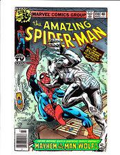 """Amazing Spider-Man No.190 : 1979 : : """"Mayhem Is The Man-Wolf!"""" :"""