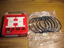 NOS Honda Piston Ring Set 0/S 1.00 CA95 CT200 13050-201-000