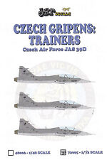 jbr72005/ JBr Decals - SAAB JAS-39D Gripen - Tschechische Luftwaffe - 1/72