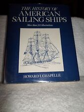 1982 The History of American Sailing Ships Howard Chapelle 200+ Illustrations